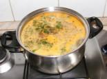 Lebbencsleves - Felforrt a leves.