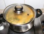 Lebbencsleves - Felforrás után takarékon főzd, és húzd félre a fedőt!