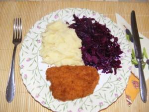 Párolt vöröskáposzta - Kész, tányérban