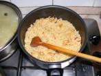 Gombás rakott káposzta - A rizs már kész is!