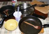 Gombás rakott káposzta - Amíg sül, mosogasd el a sok üres edényt!