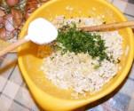 Zelleres zabpehelygolyó - Szórj bele 1 fakanál sót!