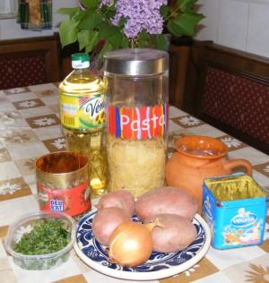 Krumplis tészta - Hozzávalók