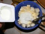 Márványsajtos krém - Öntsd hozzá a kis doboz natúrjoghurtot!