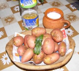 Petrezselymes újkrumpli - Hozzávalók