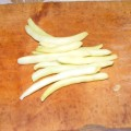 Zöldbableves - Készíts a vágódeszkára egy marék zöldbabot!
