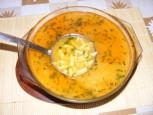 Zöldbableves - Öntsd át a levest egy levesestálba!