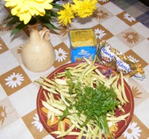 Párolt zöldbab - Hozzávalók