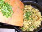 Párolt zöldbab - A kész párolt zöldbabra kapard rá a petrezselymet!