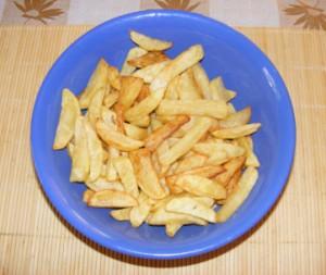 Sült krumpli - Kész, tálban.