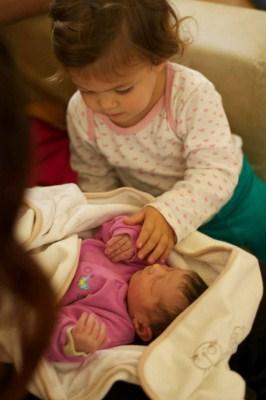 Magamról - A két kislány.