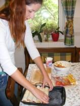 Tofus tortilla - Az ötödik tekercs is a tepsibe kerül