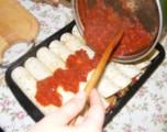 Tofus tortilla - Kapard rá a szószt a tortilla tekercsekre!