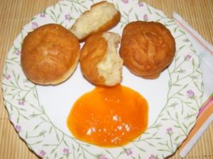 Fánk - Kész, tányérban (2)