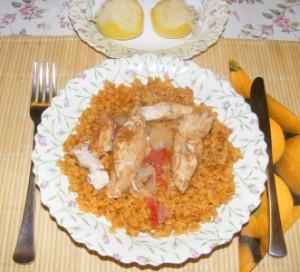 Tarhonya - Kész, tányérban