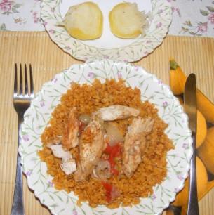 Tarhonya - Kész, tányérban 2.