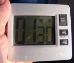 Madártej - Állítsd be az időzítőórát másfél percre!