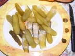 Sör-rolád - 20 szelet uborka