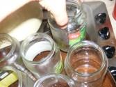 Baracklekvár - Néha emeld meg az üvegeket a tepsiben, hogy keveredjen a víz!