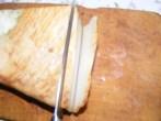 Túrós csusza - Vágj le 2 szelet füstölt szalonnát a bőréig!