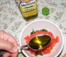 Paradicsomos-bazsalikomos bruschetta - Önts hozzá 1 evőkanál olajat!