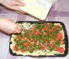 Quiche - francia pizza - Szórd rá a maradék reszelt sajtot!