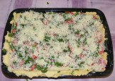 Quiche - francia pizza - Sütésre kész!