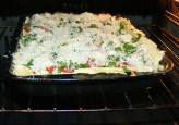 Quiche - francia pizza - Tedd a tepsit a 200 fokos sütőbe!