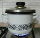Levesbetét főzése - Fedd le a fazekat, amíg felfő a víz!