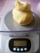 Rácsos almatorta - Pótoltam 22 dkg-ra.