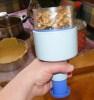Rácsos almatorta - Tölts egy marék dióbelet a kézi aprítóba!