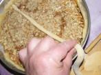 Rácsos almatorta - Az első rácsot középre tedd fel!