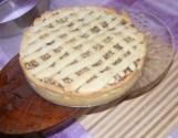 Rácsos almatorta - Csúsztasd a tortát egy szép tortatartóra!