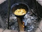 Slambuc - Kb. 10 percig pirítsd a tésztát!