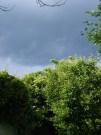 Slambuc - A harmadik óra vége előtt eleredt az eső.