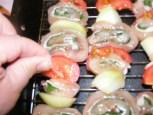 Zsályás csirkenyárs - Sózd meg a zöldségeket!