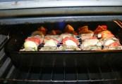 Zsályás csirkenyárs - Tedd a tepsit a forró sütőbe!