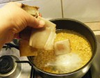 Sárgaborsó-főzelék - Dobd a lábosba a megmostt szalonnabőrt is!