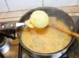 Sárgaborsó-főzelék - Halászd ki a hagymát!