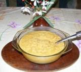 Sárgaborsó-főzelék - Öntsd át egy szép tálba a főzeléket!