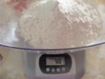 Olajbogyós kenyér - Összesen 50 dkg legyen a kétféle liszt!