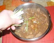 Kínai kaja - A végén szórd meg zöldhagymával!