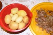 Krumplisaláta - Készen van a krumplipucolás!