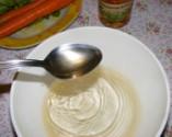 Fejes saláta répával - Önts 3 evőkanál ecetet a salátaléhez!
