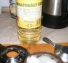 Fondüzés - Így néz ki a denaturált szeszes üveg.
