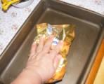 Beigli - Dörzsöld be a tepsi alját és oldalát a Ráma margarinos papírral!