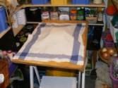 Darázsfészek - A hajtogatott tésztát takard le, és tedd hűvös helyre!