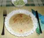 Tartalom - Tejszínes, boros csirkemell