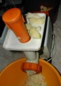 Lepcsánka - Daráld le a krumplit húsdarálón!
