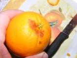 Narancslekvár - Hibás rész a narancshéjon 2.